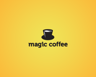 magic coffee 30 Fresh Logos To Get Your Creative Juices Flowing