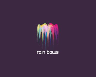 rain bows 30 Fresh Logos To Get Your Creative Juices Flowing