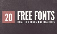 Free Logo and Heading Fonts