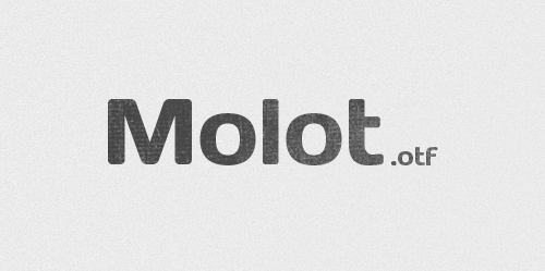 molot font