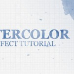 Watercolor Text Effect Tutorial