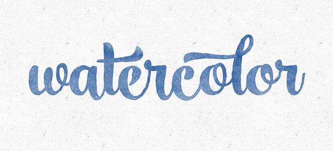 Create a Watercolor Text Effect in Photoshop | Bluefaqs