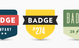 Minimal Badges PSD
